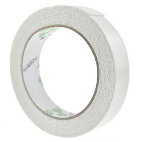 Reel of white foam double-sided tape