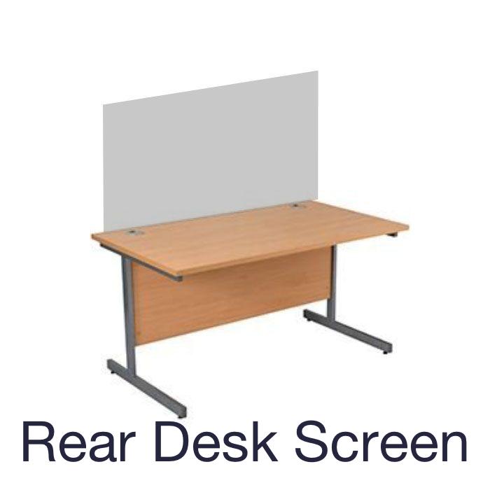 Pod Desk Screen System